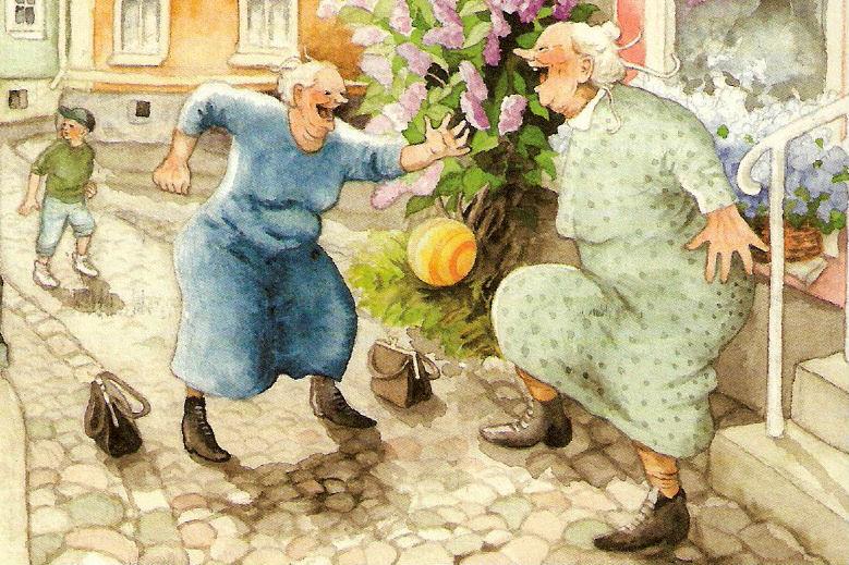 Открытка, открытки озорные бабушки